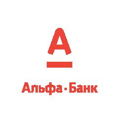 Логотип Альфа-банк