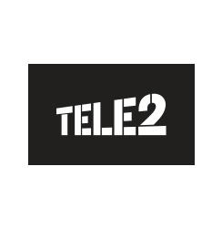 Логотип Теле 2
